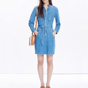 Madewell Daryl K Cecilia Denim Zip Shirtdress